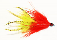 Big Red/Yellow Intruder Baitfish - Product Image