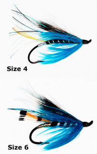 Blue Charm Fly - Product Image
