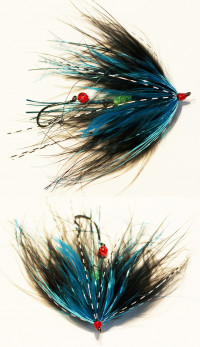Egg Dropping Methow Marabou Leech - Product Image