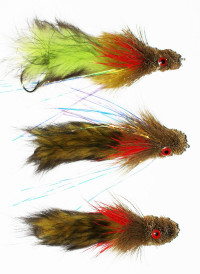 GF Deer Hair Sculpin String Leech Fly - Product Image