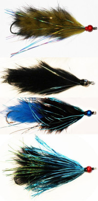 Great Lakes Winter Steelhead Moal Fly Collection - Product Image