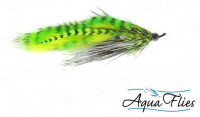 Hartwick's Cyclops Leech, Chartreuse/Silver - Product Image