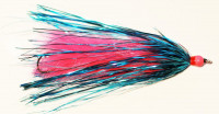 King Intruder Leech, Pink with Blue - Product Image
