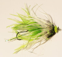 King O Intruder, White/Chartreuse - Product Image