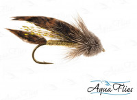 Muddler Minnow, Gold, size 4 - Product Image