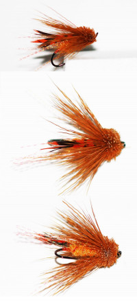 October Caddis Muddler - Product Image