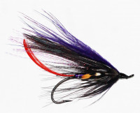 Purple Spey with Jungle Cock - Product Image
