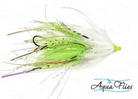 Stu's Chinook Intruders, White/Chartreuse - Product Image