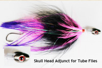 Tube Fly Skull Head Adjunct - Product Image