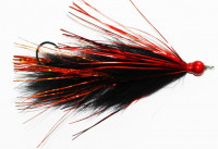 Two Toned Flash Moal Leech, Red/Orange - Product Image