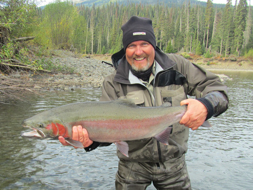 Greg Hult, Big Buck, Nass River Steelhead