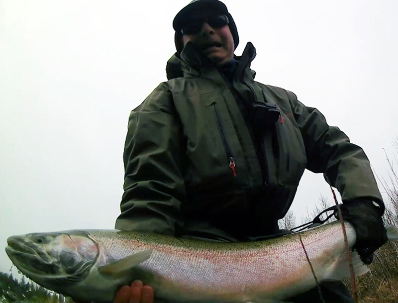 Winter Steelhead, Jeff Layton