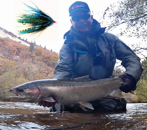 Jeff Layton Big Hen Steelhead