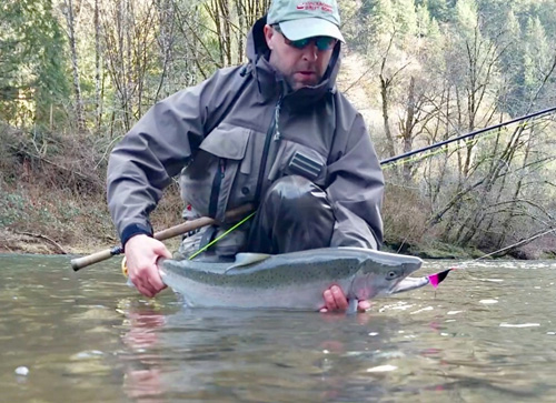 Keith Seanor Oregon Coast Steelhead