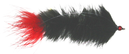 Big Mega Moal MT with Red Marabou Tail
