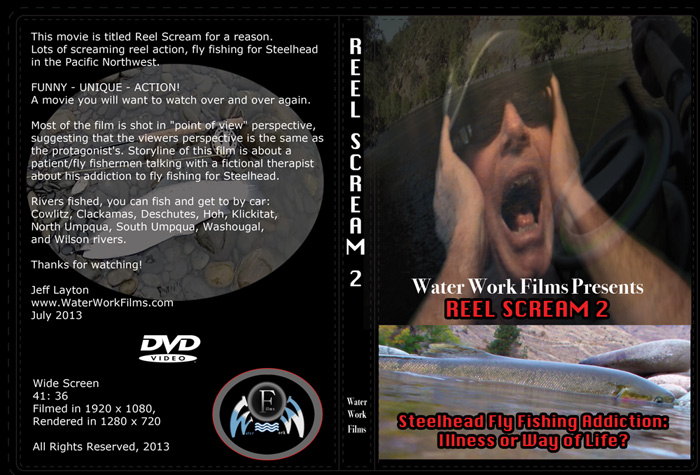 Reel Scream 2 - Steelhead Fly Fishing Movie, DVD