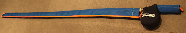 Fly Rod Handle Protector with Fly Rod Sleeve