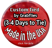 Custom tied, made in the USA