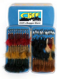Cliff's Bugger Barn - Fly Box - Product Image