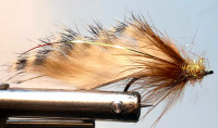 Brown Barred Rabbit Streamer - Product Image