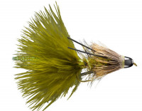 Cone Head Bow River Bugger, Olive - Product Image