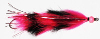 Custom Black and Pink Barred Moal Leech - Product Image