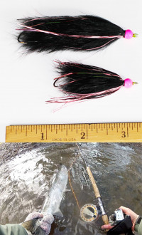 Custom Pink Flash Moal Leech - Product Image