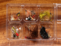 Dry and Wet Fly Mix, Two Dozen Fly Pack - Product Image