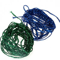 Dyed Pearl Diamond Braid by Hareline - Product Image