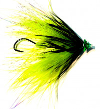 Grabflies Ultra Sonic Cone Tube, Chartreuse - Product Image