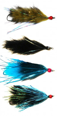 Great Lakes Steelhead Moal Fly Collection - Product Image