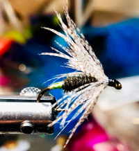 Green Butted Peacock Soft Hackle - Product Image