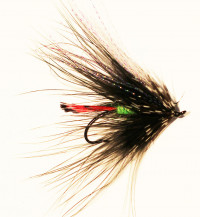 Green Butted Spey Skunk - Product Image