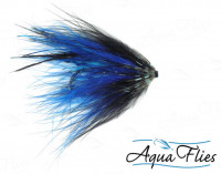 Hartwick's Marabou Tube, Blue/Black - Product Image