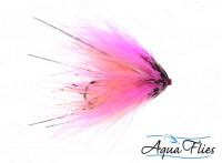 Hartwick's Marabou Tube, Hot Pink/Shrimp - Product Image