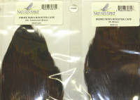India Dry Fly Rooster Cape, Prime, Royal Coachmen Brown - Product Image