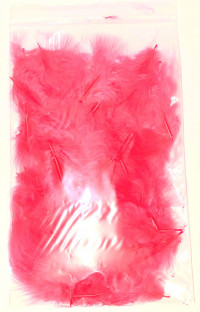 Marabou, Pink, 40 Small Feathers - Product Image