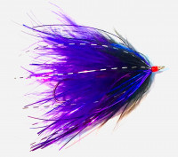 Marabou Spey, Purple/Black - Product Image