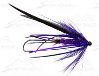 Mist Jackal Tube Fly, Purple - Product Image