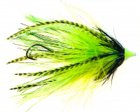 Neo Skagit King Leech Tube Intruder, Chartreuse - Product Image