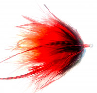 Neo Skagit Leech, King Salmon - Red/Orange/Black - Product Image