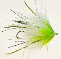 Neo Skagit Leech, King Salmon - White/Chartreuse - Product Image