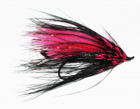 Rabbit and Rhea Spey, Black and Pink - Product Image