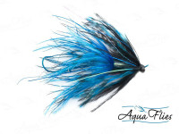 Stu's Barred Ostrich Intruder, Black/Blue - Product Image