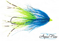Stu's Chinook Intruders, Blue/Chartreuse - Product Image