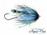 Stu's Jungle Tail Turbo Cone, Black/Blue - Product Image