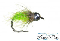 TDF Bead Head Chartreuse Bug, Nymph - Product Image