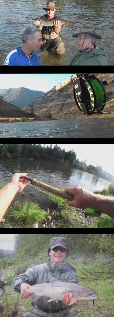Steelhead fly fishing movie